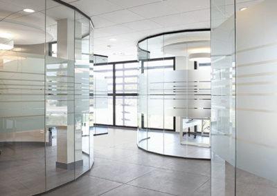 Cloison vitrée transparentes BCA
