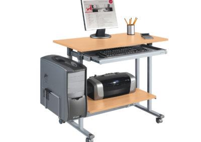 Postes et tables informatiques